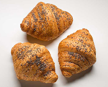 Croissant made with Robustum flour
